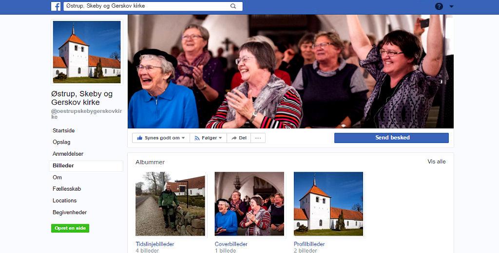 Østrup Skeby Gerskov Kirke - Facebook side