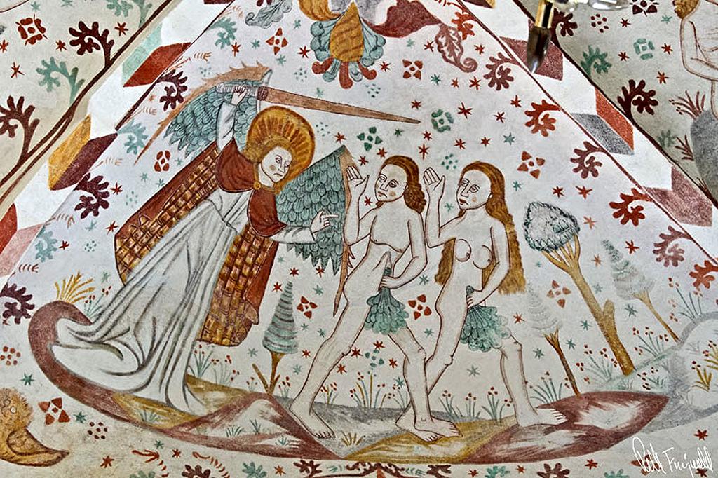 Kærlighed Ud af paradis Adam og Eva Ubetinget Kærlighed https://www.oestrup-skeby-gerskov-kirker.dk
