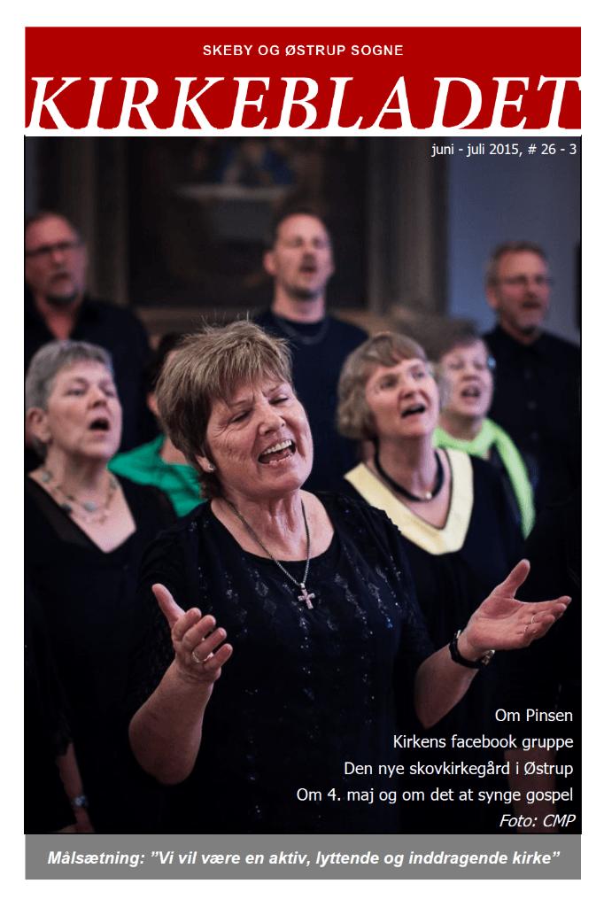 Kirkeblade AArg. 26 nr. 3 juni - juli 2015
