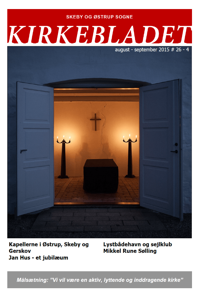 Kirkeblade AArg. 26 nr. 4 aug. - sep. 2015