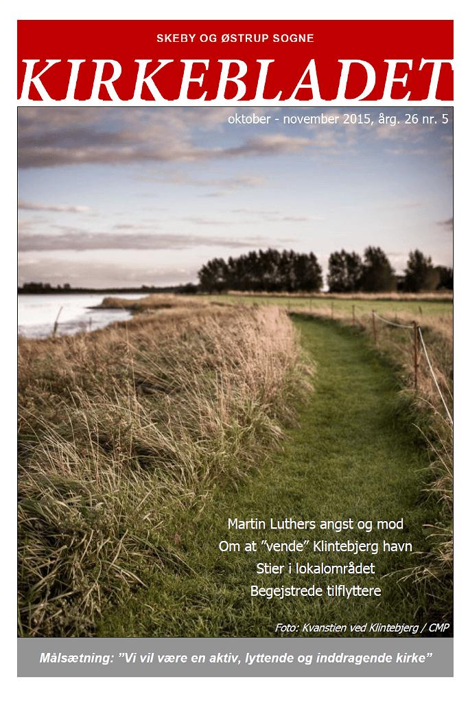 Kirkeblade AArg. 26 nr. 5 okt. - nov. 2015