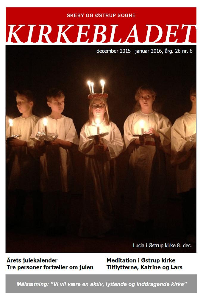 Kirkeblade AArg. 26 nr. 6 dec. 2015 - jan. 2016