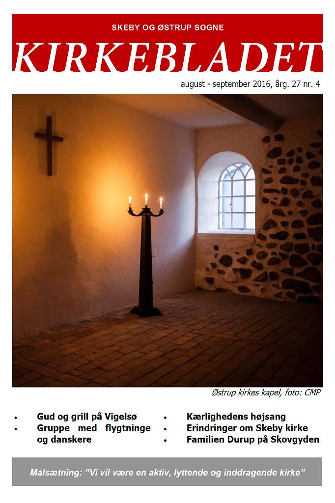 Kirkeblade AArg. 27 nr. 4 aug. - sep. 2016