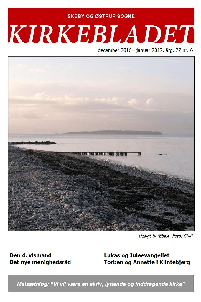 Kirkeblade AArg. 27 nr. 6 dec. 2016 - jan. 2017