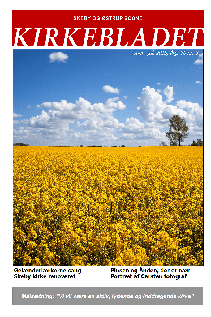 Kirkeblade AArg. 30 nr. 3 juni - juli 2019