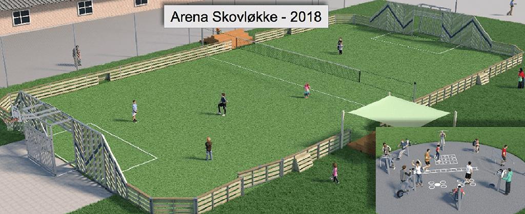 Arena Skovløkke - 2018