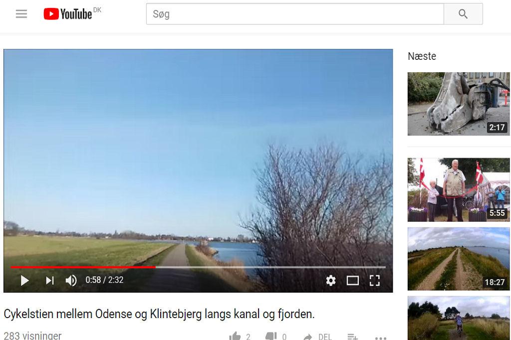 Cykelstien Odense Klintebjerg ved John Bonnesen Wolff