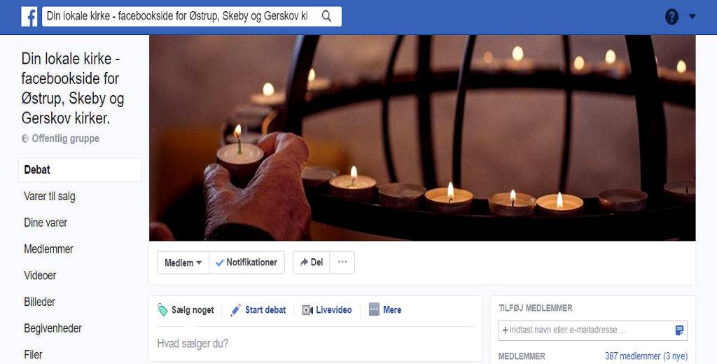 Din Lokale kirke - gruppe facebook