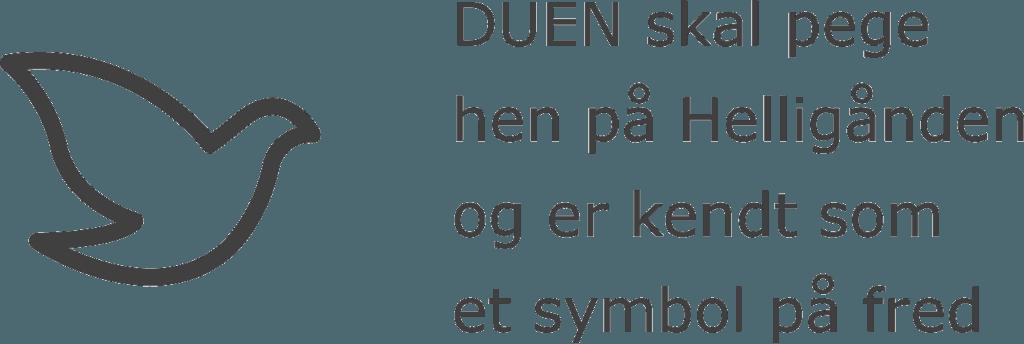 Oestrup Skeby Gerskov Kirker Folekirken Duen Helligånd fred tekst https://www.oestrup-skeby-gerskov-kirker.dk