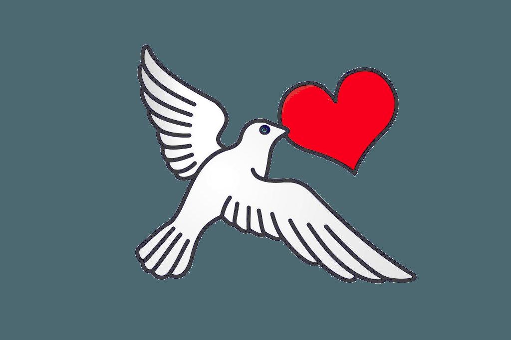 Kærlighed Duen symbol Helligånd og fred Ubetinget Kærlighed https://www.oestrup-skeby-gerskov-kirker.dk