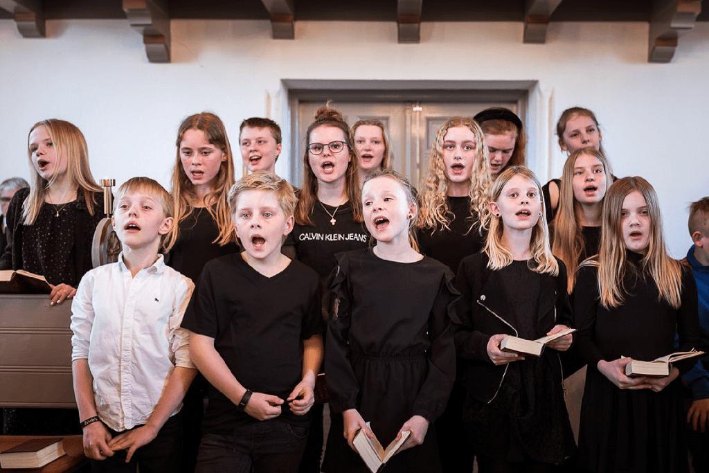 Kirkekoret GELÆNDERLÆRKERNE Østrup-Skeby-Gerskov-Kirker