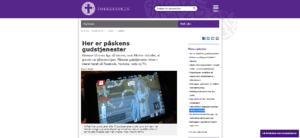 HEJS FLAGET PÅSKEDAG OG TÆND FOR FJERNSYNET!
