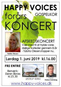 Happy Voices Forårskoncert 1. juni 2019 kl. 16