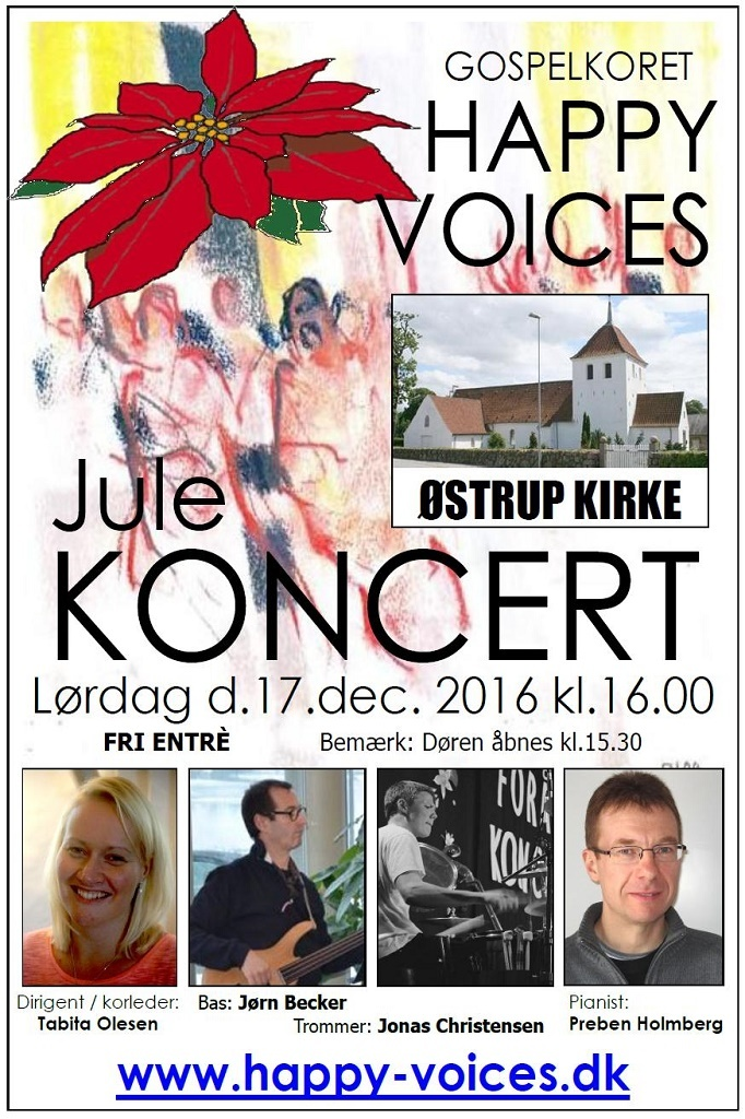 Happy Voices - Gospelkor https://www.oestrup-skeby-gerskov-kirker.dk/ https://www.happy-voices.dk/