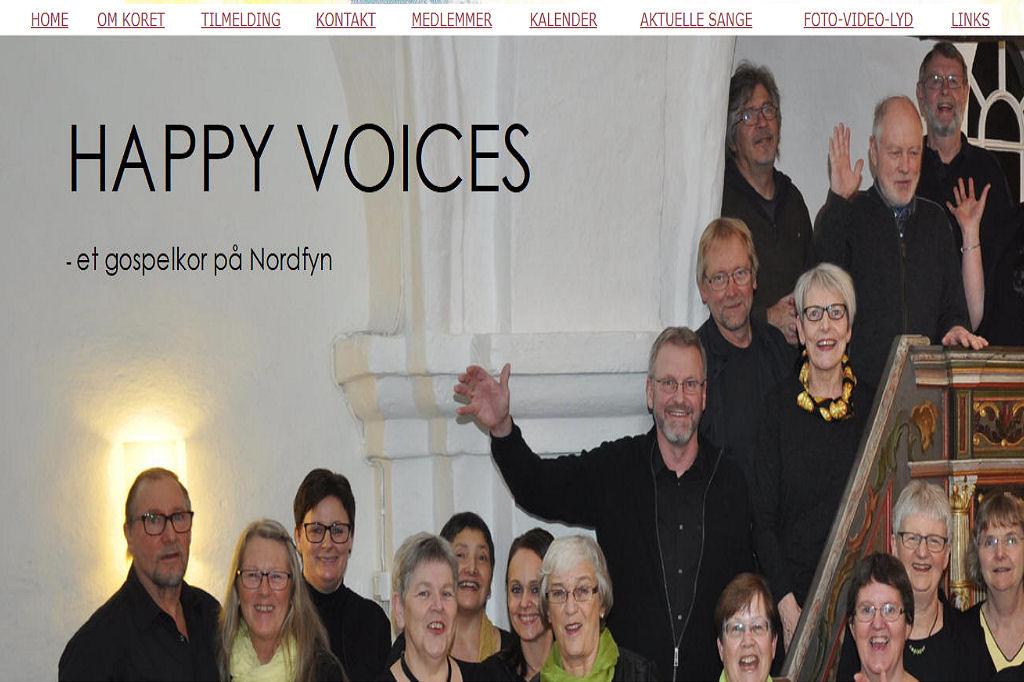 Happy Voices opdateret