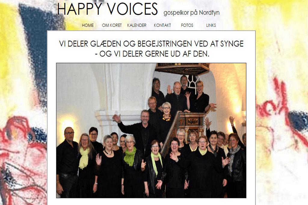 Kirkekoret Happy Voices Gospel Oestrup Skeby Gerskov Kirker https://www.oestrup-skeby-gerskov-kirker.dk