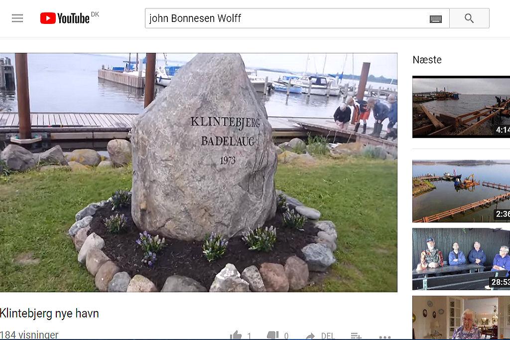 Indvielse ny havn ved John B. Wolff