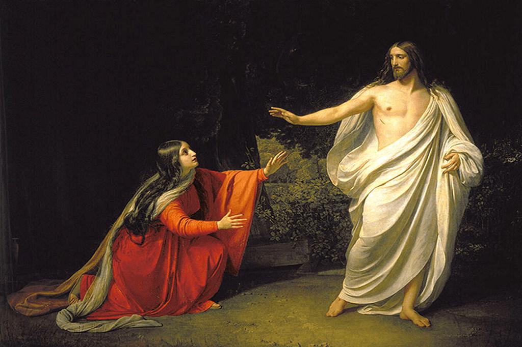 Jesus og Maria Magdalena Ubetinget Kærlighed https://www.oestrup-skeby-gerskov-kirker.dk
