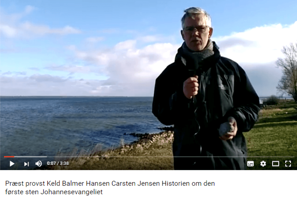 Livsfortællinger og Livsværk Videoer på Youtube Keld B. Hansen Den første Sten https://www.youtube.com/watch?v=4ygqKB07EZ0