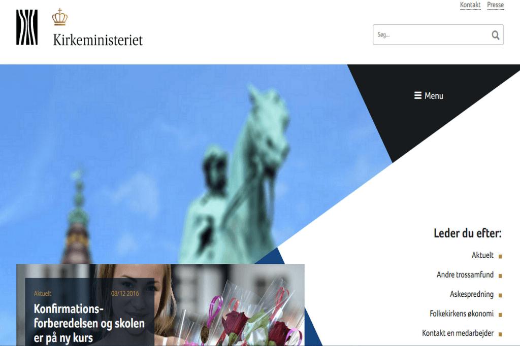 Kirkeministeriet DK