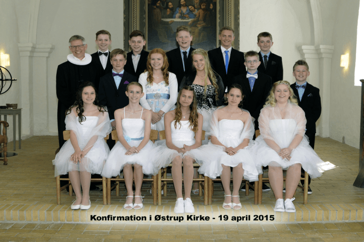 Konfirmation 2015 www.oestrup-skeby-gerskov-kirker.dk