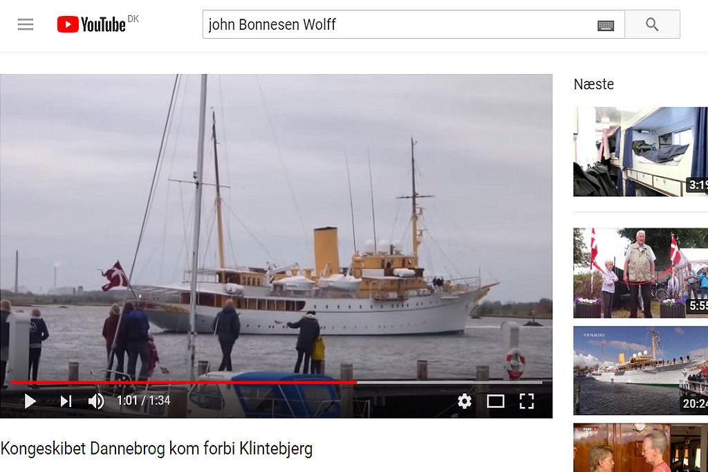 Kongeskibet Dannebro ved John B. Wolff