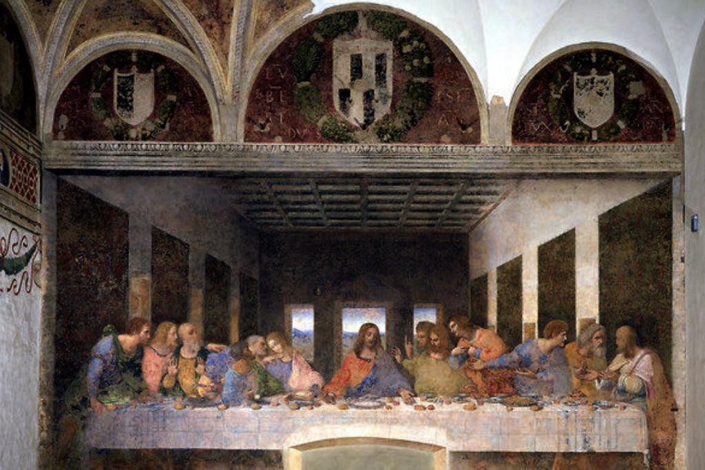 Jesus og fællesskabet Påske og Nadver Last supper - Leonardo de Vinci