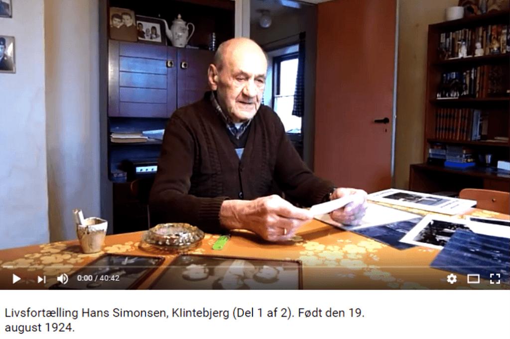 Livsfortællinger og Livsværk Videoer på Youtube Hans Simonsen 1 af 2 https://www.youtube.com/watch?v=aGD9Pedii5k