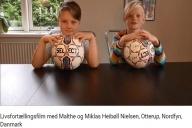 Livsfortællingsfilm med Malthe og Miklas Heibøll Nielsen, Otterup, Nordfyn, Danmark