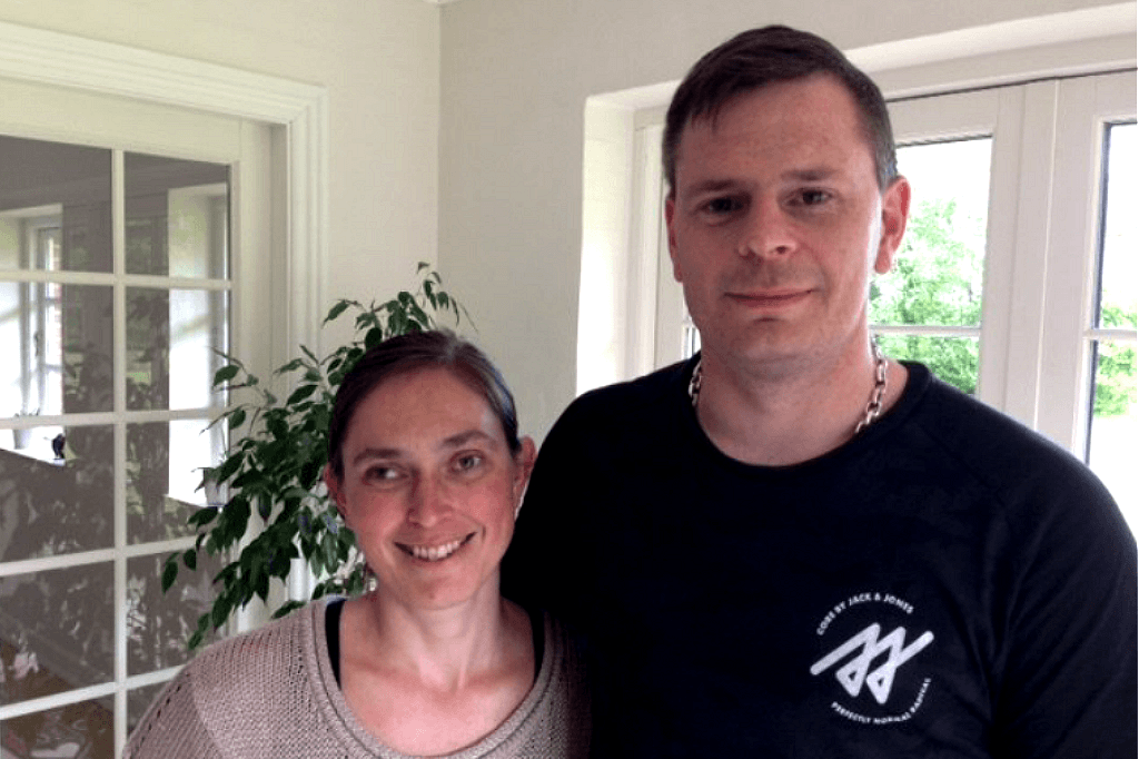 Tilflyttere - Maria og Thomas Ølundgården