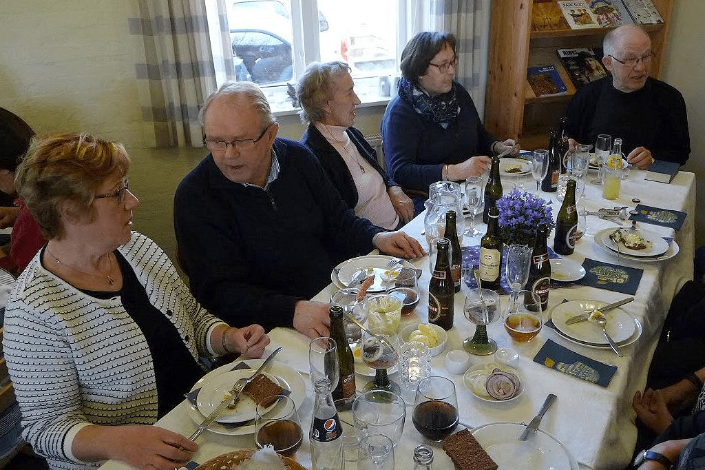Østrup Kirke Præstegård Nytårstræf 7. januar 2016