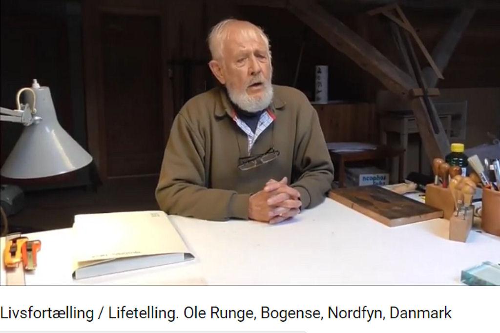 Livsfortælling / Lifetelling. Ole Runge, Bogense, Nordfyn, Danmark
