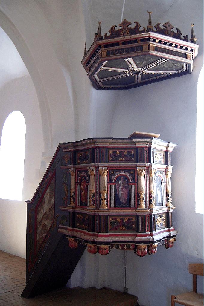 Prædikestolen Østrup Kirke