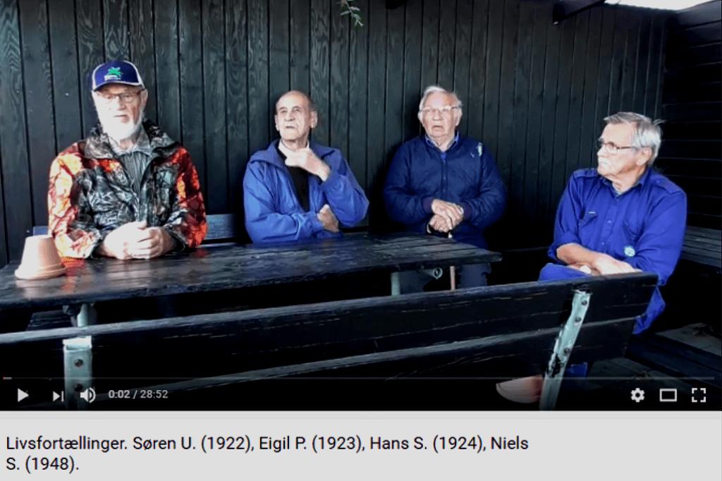Livsfortællinger og Livsværk Videoer på Youtube Søren U. Eigil P. Hans S Niels S https://www.youtube.com/watch?v=-npFFboHl5w