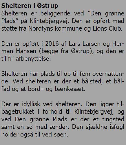 Shelter Østrup