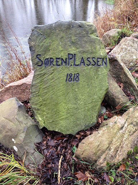 Østrup Præstegård Sten 10